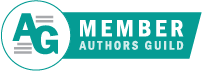 Authorsguildmemberbadge teal banner